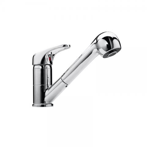 Mixer tap pull-out spray head